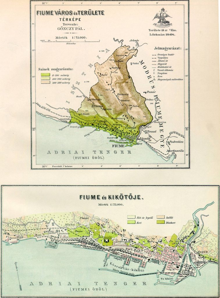 Fiume Map