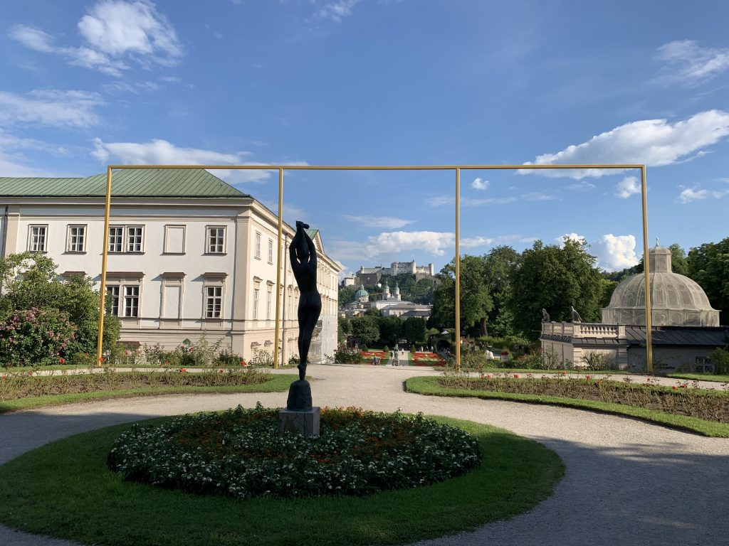Salzburg Festival Intervention by Isa Rosenbergera