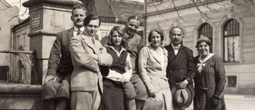 Botstiber Family in Austria, 1931