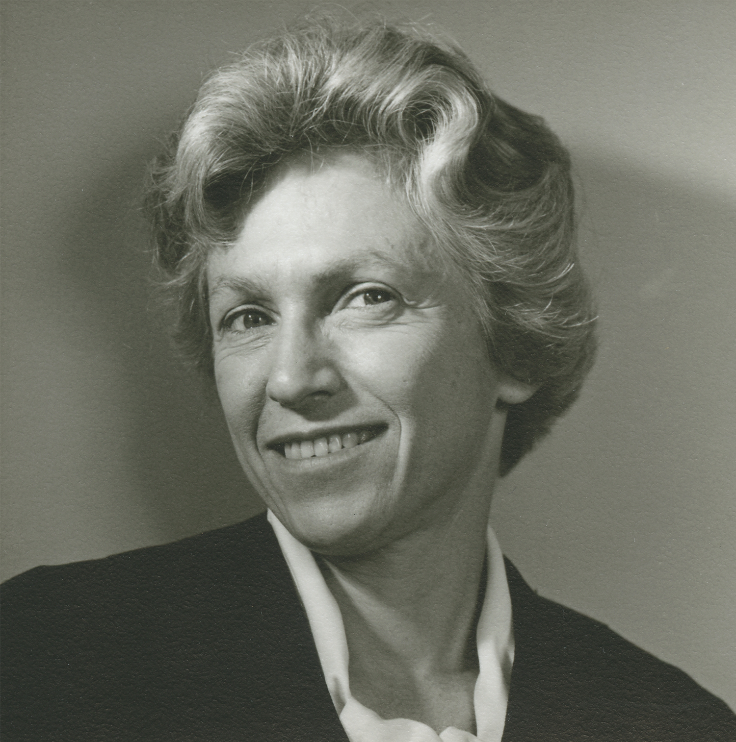 Architect Elizabeth Scheu Close, circa 1956. Courtesy of Roy M. Close Family Papers.