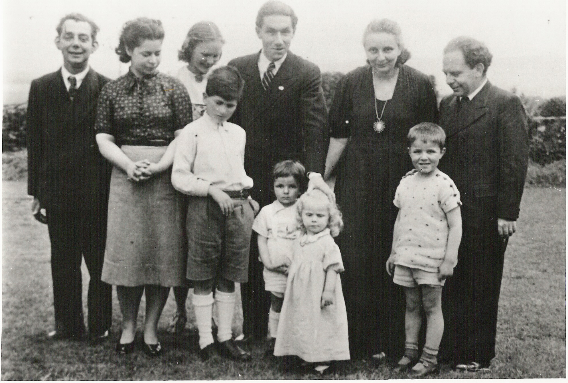 Karl Koenig and early Camphill Founders, children.